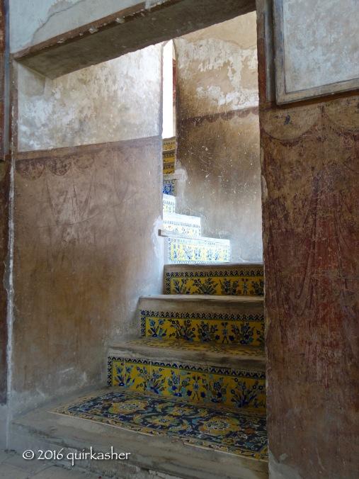 Inside Ali Qapu Palace