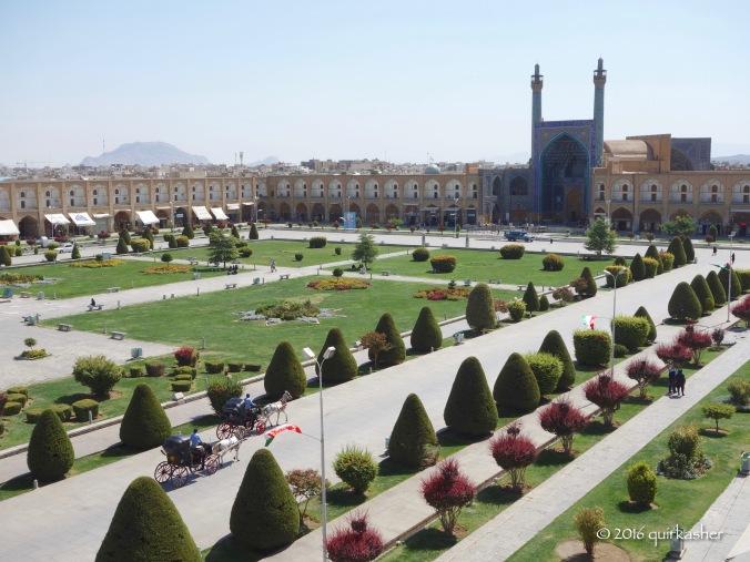 View from Ali Qapu Palace