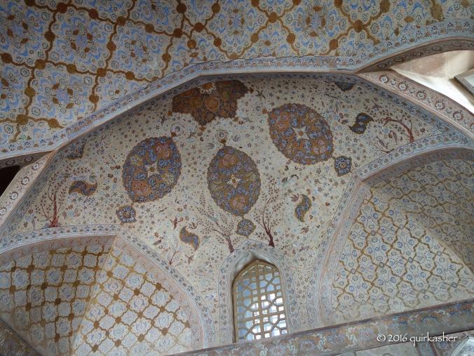Ceiling of Ali Qapu Palace