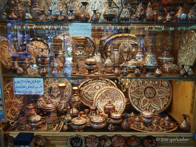 At the bazaar of Imam Square