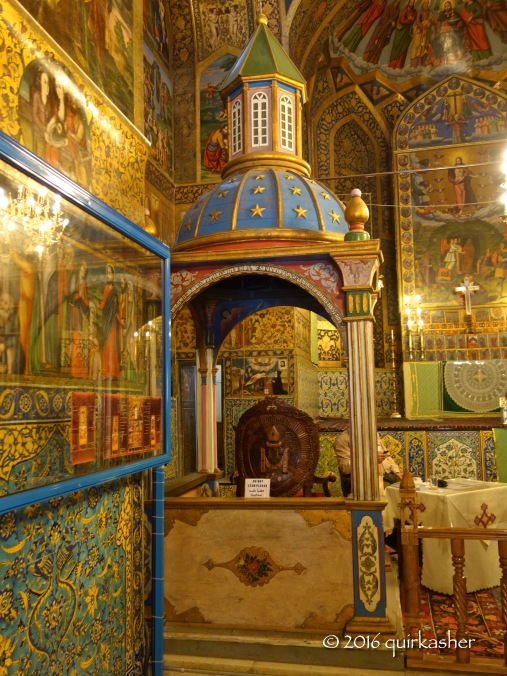 Inside Vank Cathedral