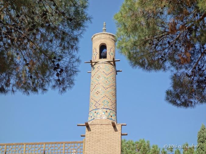 Shaking the minarets