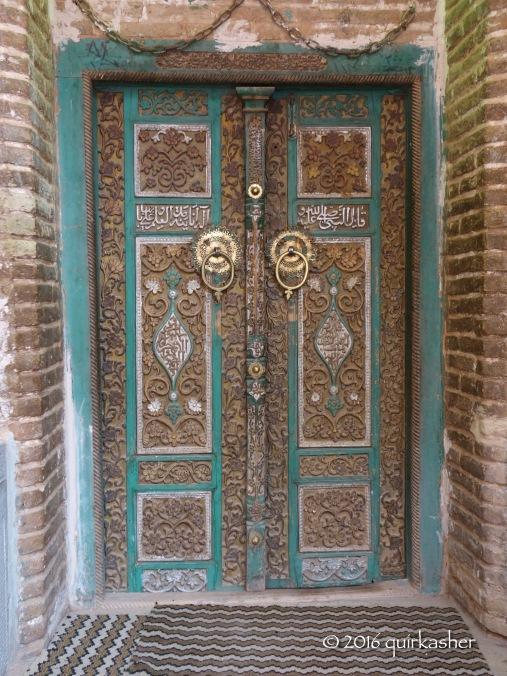 Door of Abyaneh's Jameh Mosque