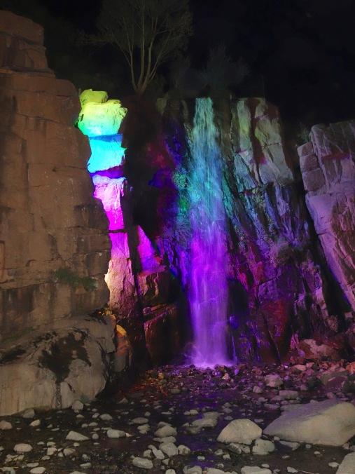 Waterfall at Ganjnameh