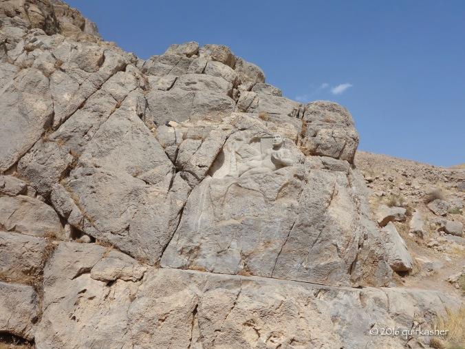 Hercules in the rocks
