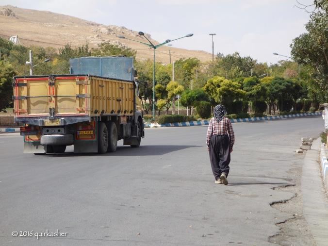 An old Kurdish man