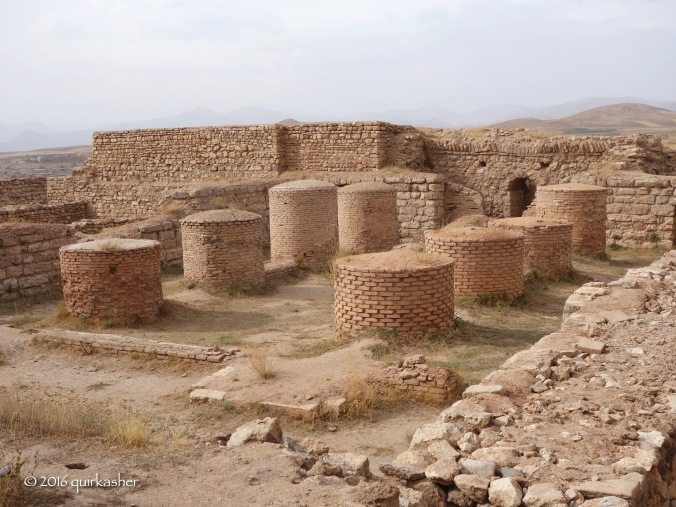 Probably an audience hall in Takht-e Soleyman