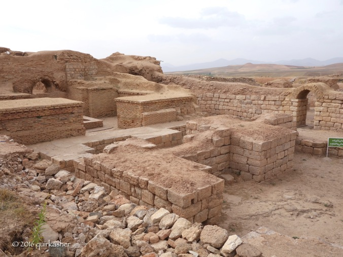 Fire temple of Takht-e Soleyman