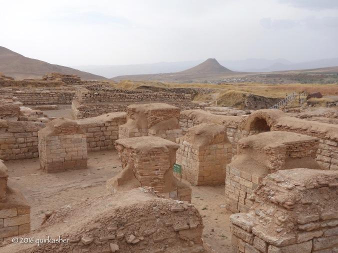 Anahita temple of Takht-e Soleyman