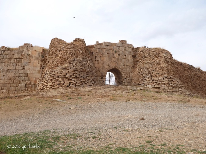 One of the gates of Takht-e Soleyman