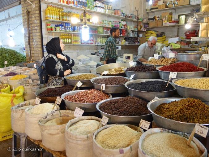Zanjan bazaar