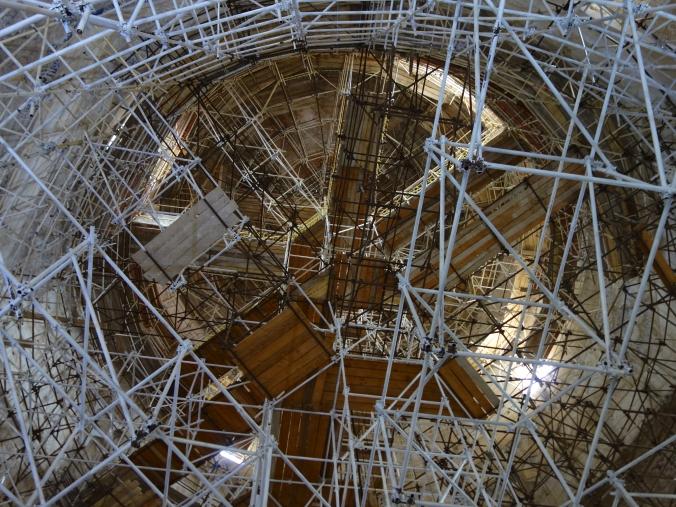 Mausoleum under restoration