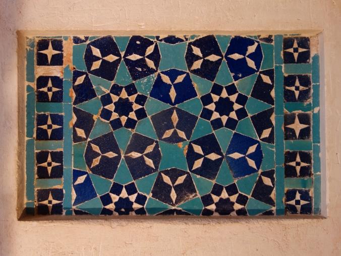 Decorations in Oljaytu's mausoleum
