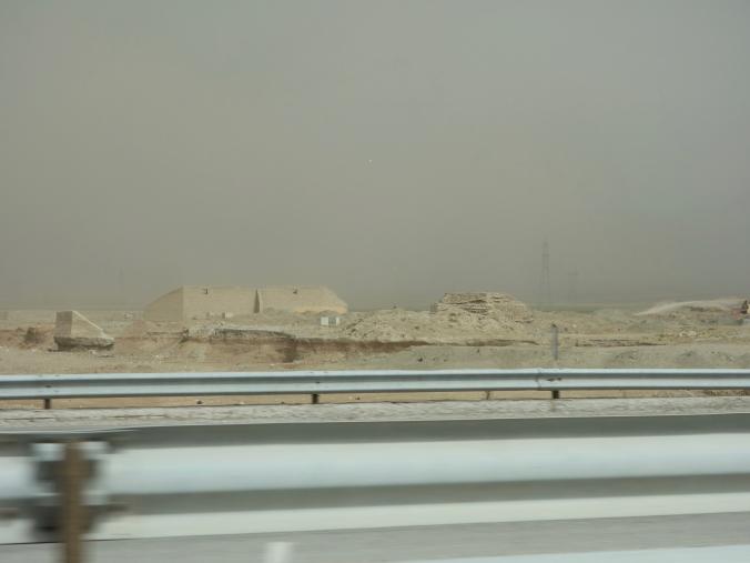 Sandstorm in the distance