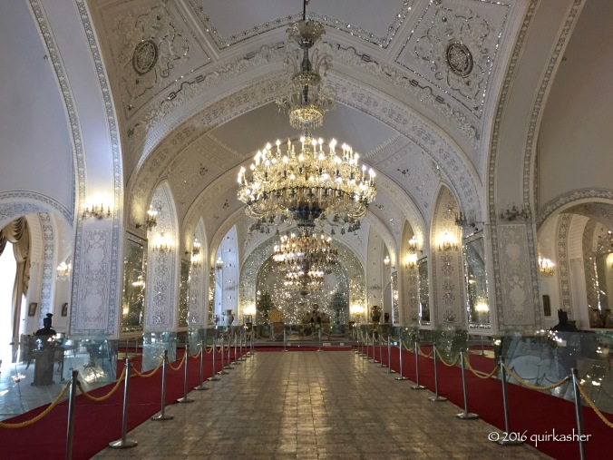 Talar-e Salam (the royal reception hall)