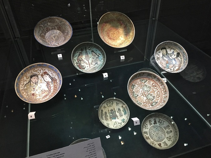 At the Reza Abbasi Museum