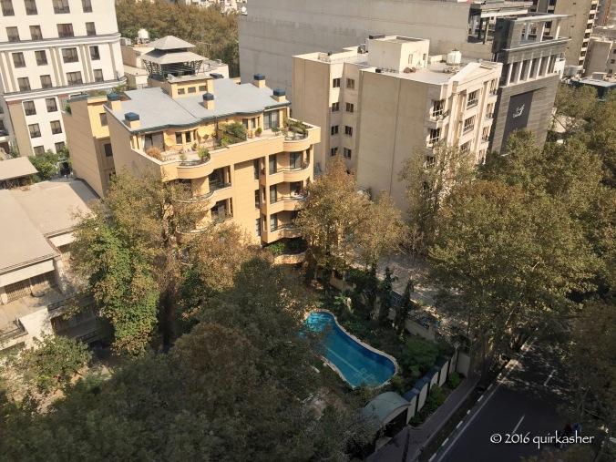 Living in Tehran