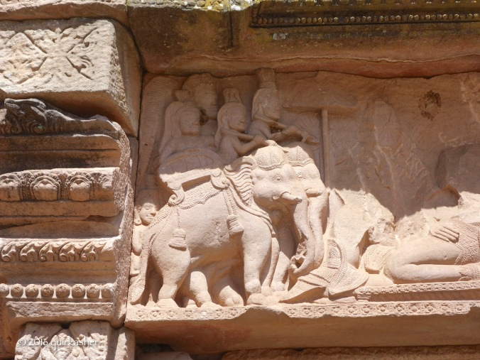 Carving on the temple