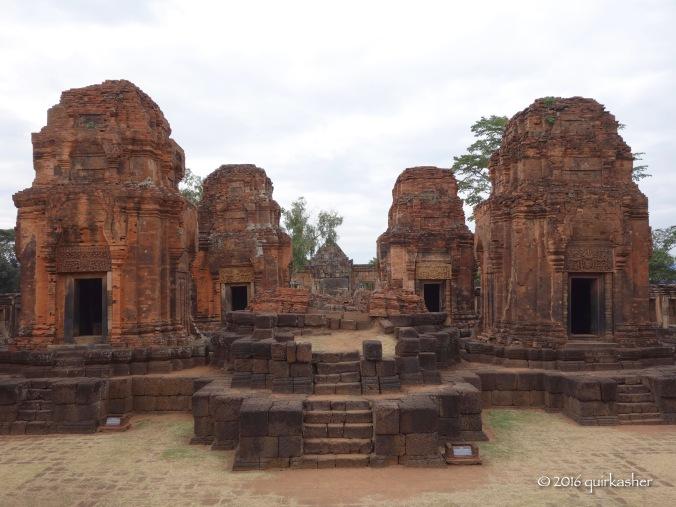 The towers of Prasat Muang Tam