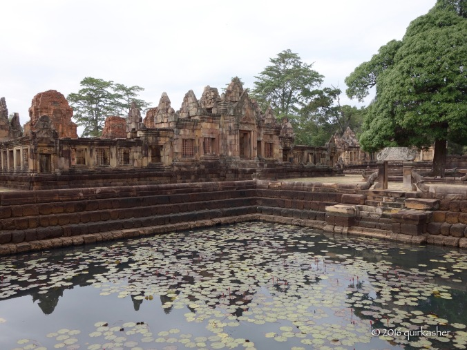 One of the ponds in Prasat Muang Tam