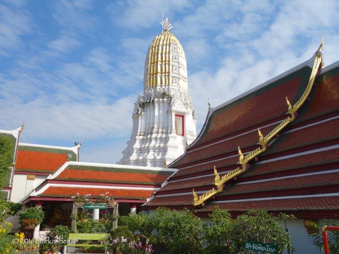 Khmer style prang of Wat Yai