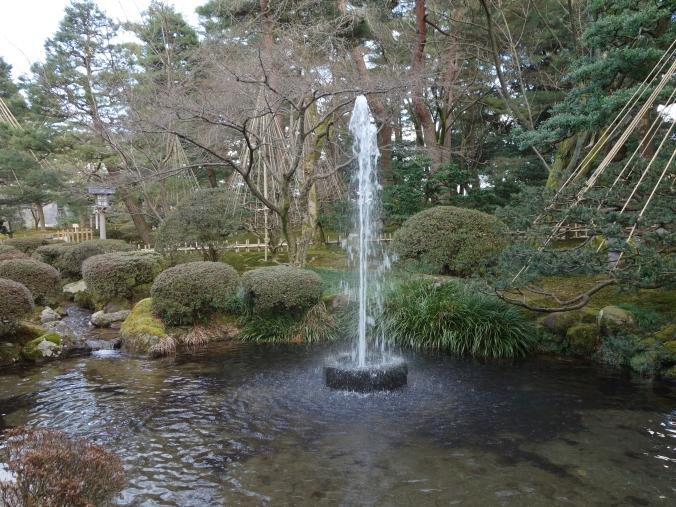 Oldest fountain in Japan in Kenrokuen