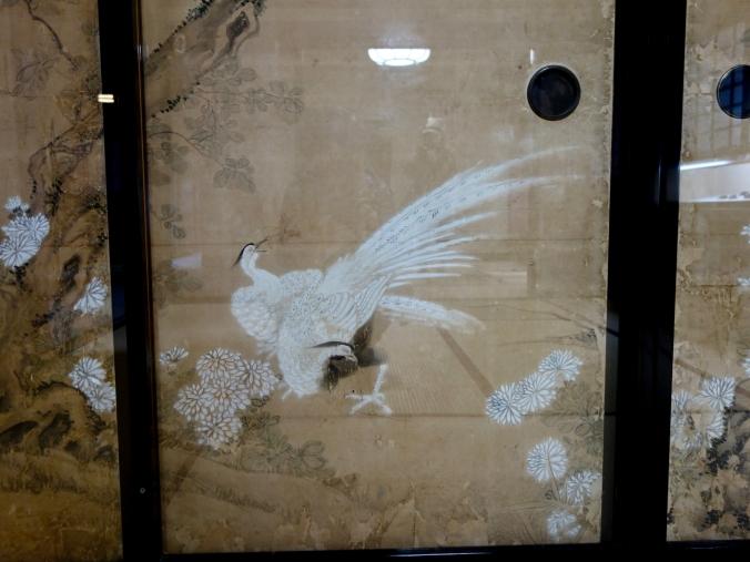 Door art in Nomura House