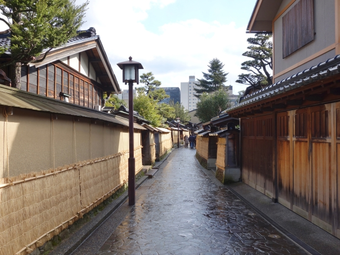 Traditional alley in Nagamachi